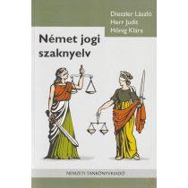NÉMET JOGI SZAKNYELV - Elfogyott