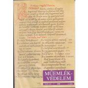 MŰEMLÉKVÉDELEM - XLIV. évf., 2000/2.
