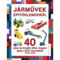 JÁRMŰVEK ÉPÍTŐELEMEKBŐL - LEGO-KÖNYVEK
