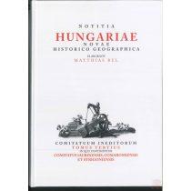 NOTITIA HUNGARIAE NOVAE HISTORICO GEOGRAPHICA