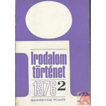 IRODALOMTÖRTÉNET 1976/2