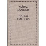 MÁRAI SÁNDOR: NAPLÓ 1976-1983