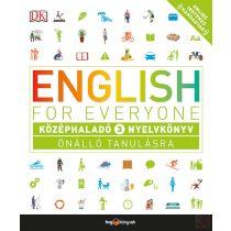 ENGLISH FOR EVERYONE: KÖZÉPHALADÓ 3. NYELVKÖNYV
