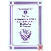 ANTOLOGIA DELLA LETTERATURA ITALIANA DEL CINQUECENTO