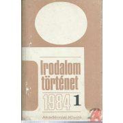 IRODALOMTÖRTÉNET 1984/1