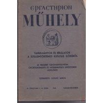 MŰHELY (Ergasterion) 1940. január-december