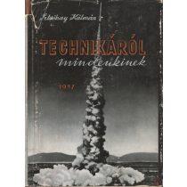 TECHNIKÁRÓL MINDENKINEK 1957