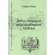 KOLOZS VÁRMEGYEI PARASZTVALLOMÁSOK 1820-BÓL I.