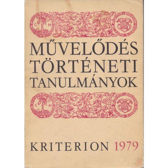MŰVELŐDÉSTÖRTÉNETI TANULMÁNYOK 1979