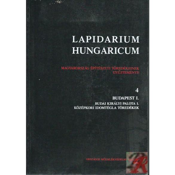 LAPIDARIUM HUNGARICUM 4.