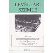 LEVÉLTÁRI SZEMLE 1999/4