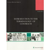 INTRODUCTION TO THE TERMINOLOGY OF CONTRACTS