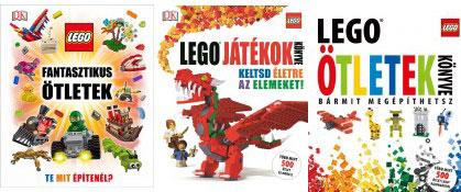 Lego könyvek