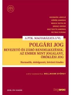 Polgári jog I/VI. – Bevezető és záró rendelkezések, Az ember mint jogalany, Öröklési jog