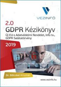 2.0 GDPR kézikönyv