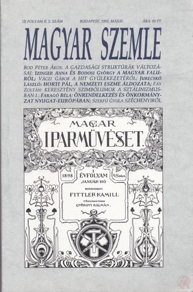 MAGYAR SZEMLE 1993. május