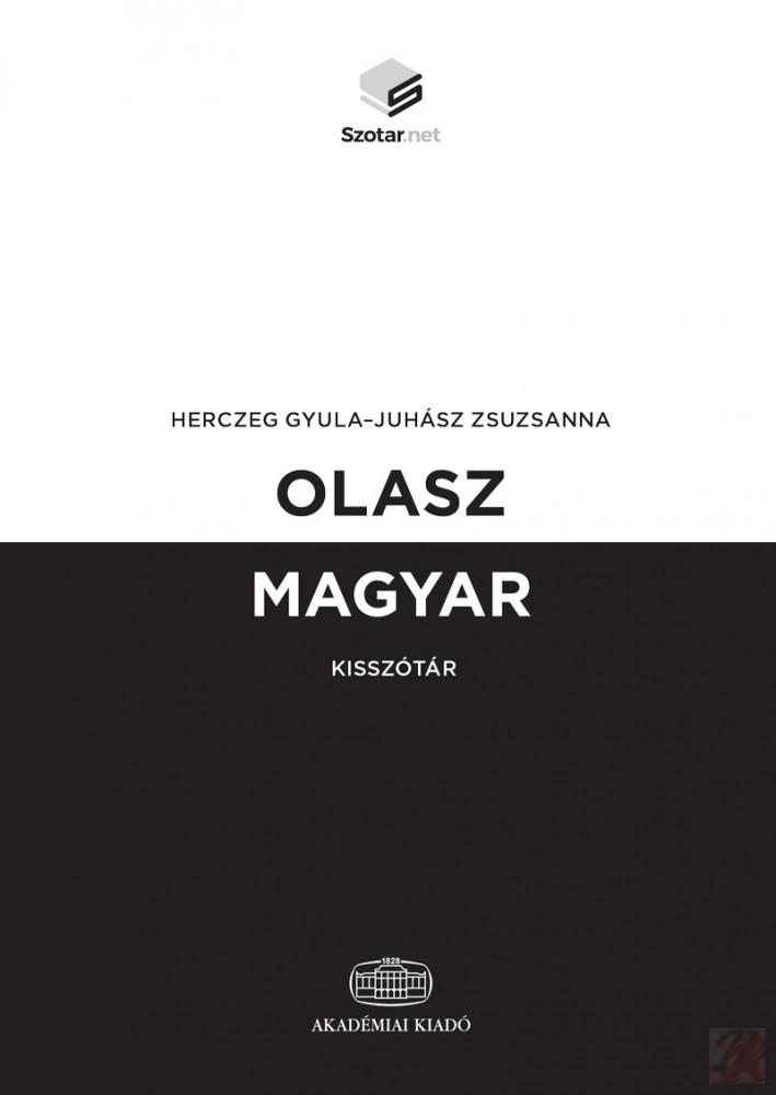 OLASZ-MAGYAR KISSZÓTÁR + ONLINE SZÓTÁRCSOMAG