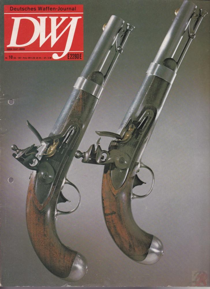 DEUTSCHES WAFFEN-JOURNAL 1981/10
