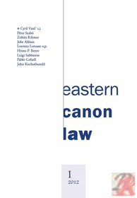 EASTERN CANON LAW