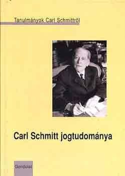 CARL SCHMITT JOGTUDOMÁNYA