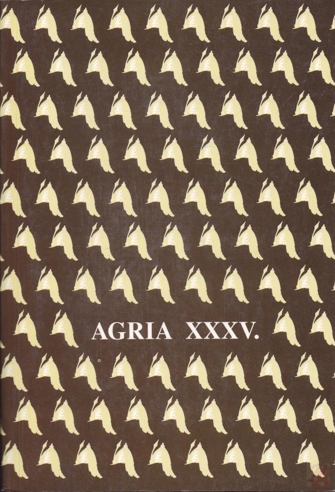 AGRIA XXXV.