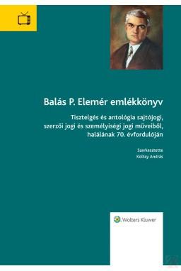 BALÁS P. ELEMÉR EMLÉKKÖNYV