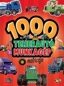 Image of 1000 TEHERAUTÓ ÉS MUNKAGÉP MATRICÁJA - PIROS