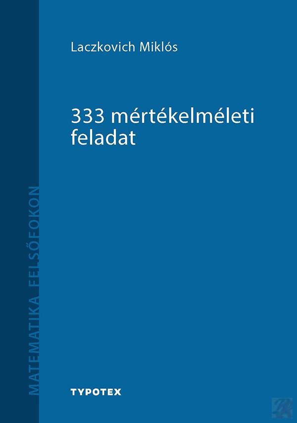 333 MÉRTÉKELMÉLETI FELADAT