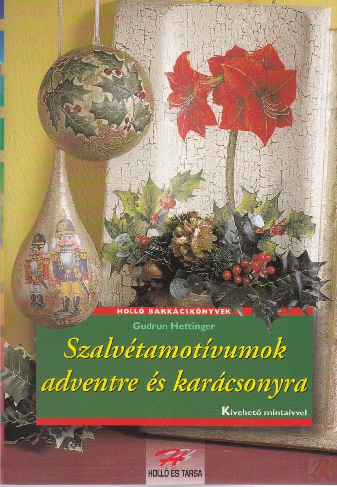 Szalvétamotívumok adventre és karácsonyra