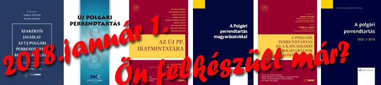 Új Polgári Perrendtartás -Új Polgári eljárásjog-ÚjPp.
